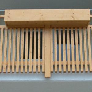 Pirchers Tischlerei Balkon
